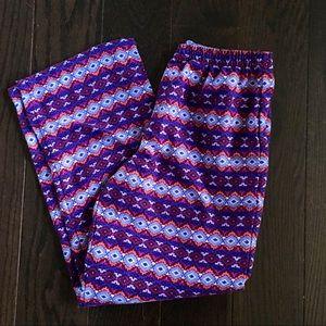 L.L. Bean Pajama Pants! Comfy & Colorful!